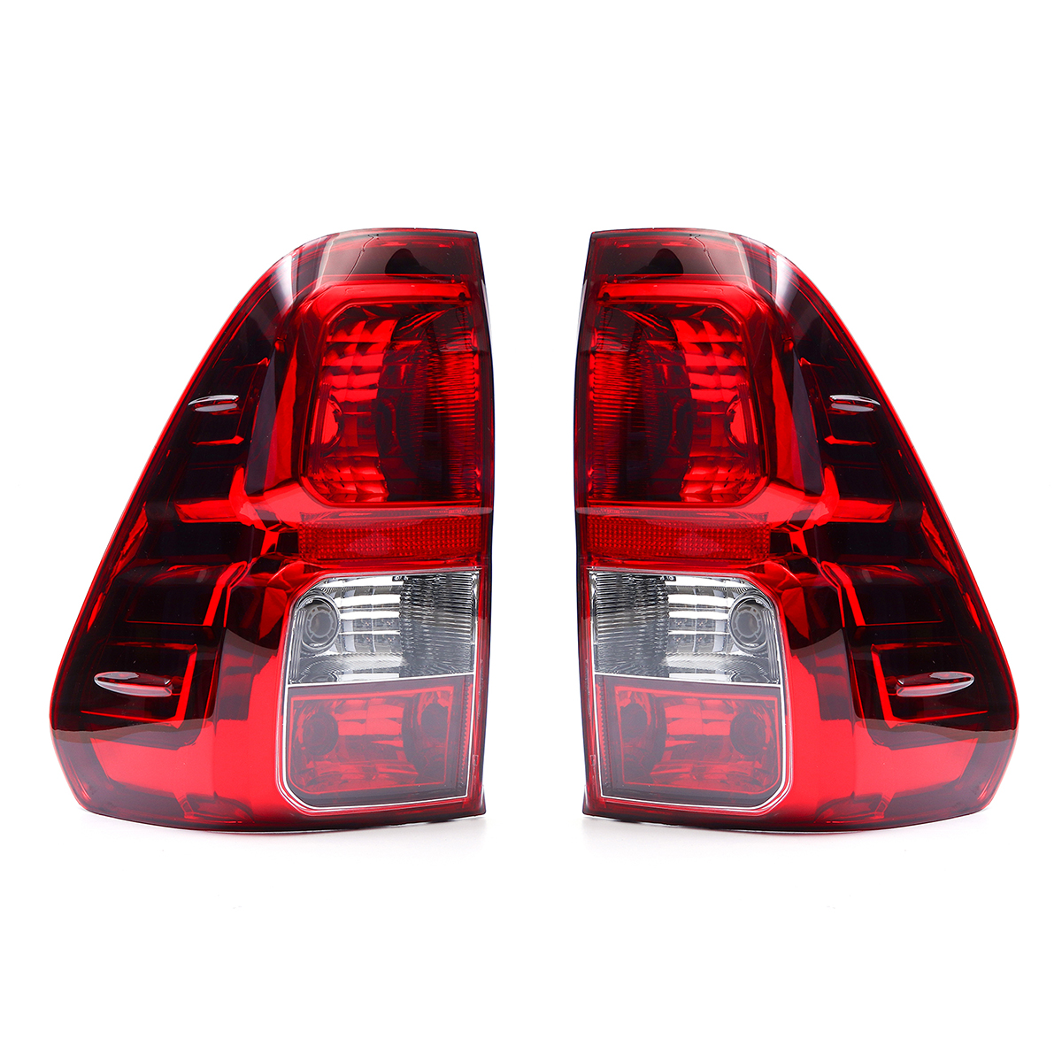 Car Rear Left/Right Tail Light Brake Lamp Assembly without Bulb for Toyota Hilux Revo 2015-2018