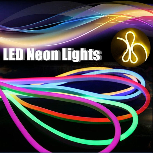 3M 2835 LED Flexible Neon Rope Strip Light Xmas Outdoor Waterproof AC110V