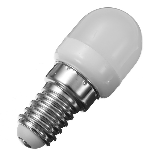 E14 1.5W Mini LED White/Warm White Light Bulb Home Chandelier Refrigerator Lamp AC200-240V