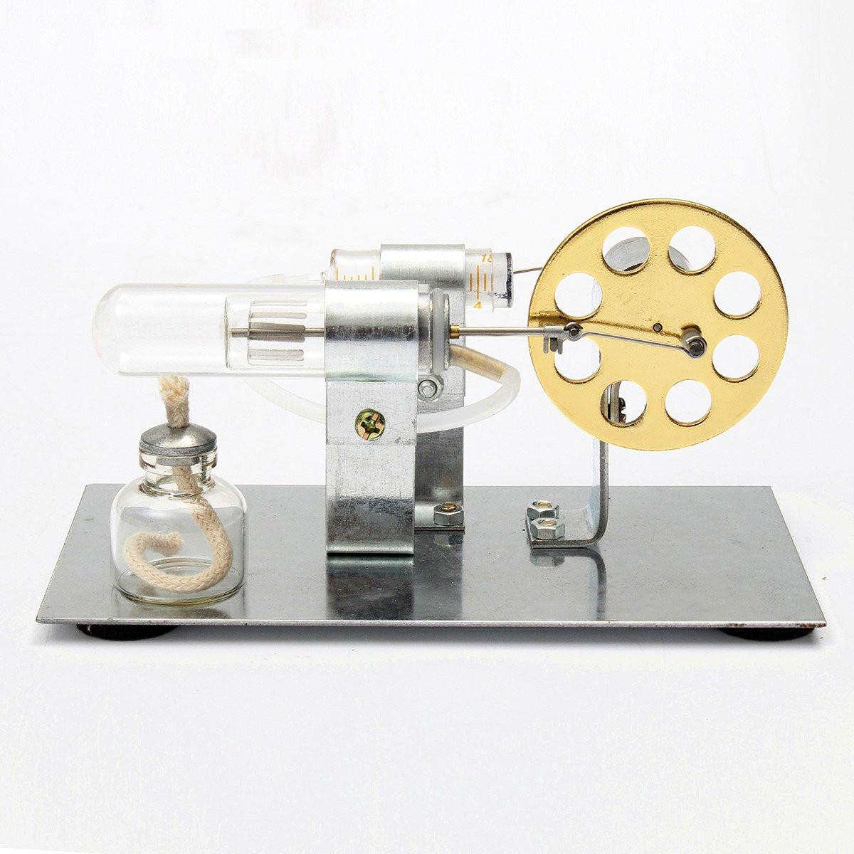 Mini Hot Air Stirling Engine Model Engine Model DIY Sci