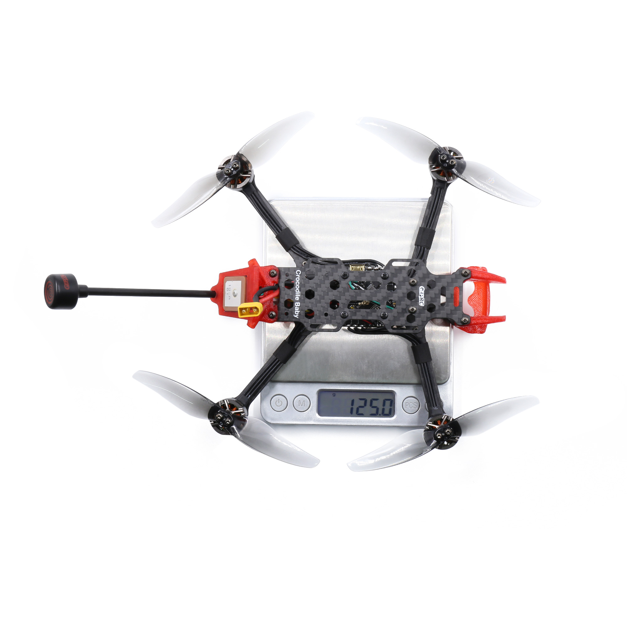 GEPRC Crocodile Baby 4 Inch 4S LR Micro Long Range FPV Racing Drone PNP/BNF Without FPV System F4 FC 20A ESC 1404 2750KV Motor