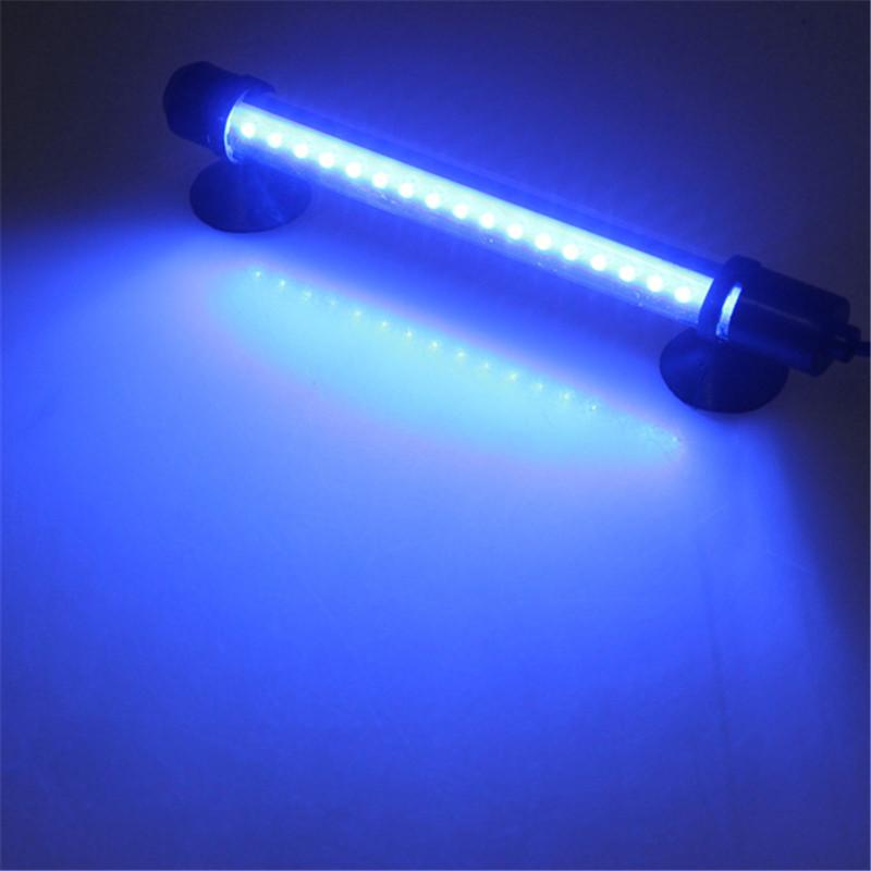 18 LED Fish Tank Bar Submersible Waterproof Strip Lamp 100-240V