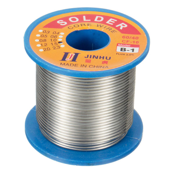250g 1.5mm 60/40 tin lead soldering wire reel solder rosin core