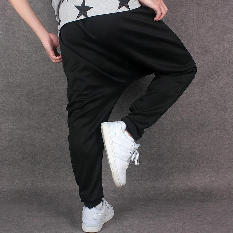 INCERUN Men's Hip Hop Dance Loose Pants