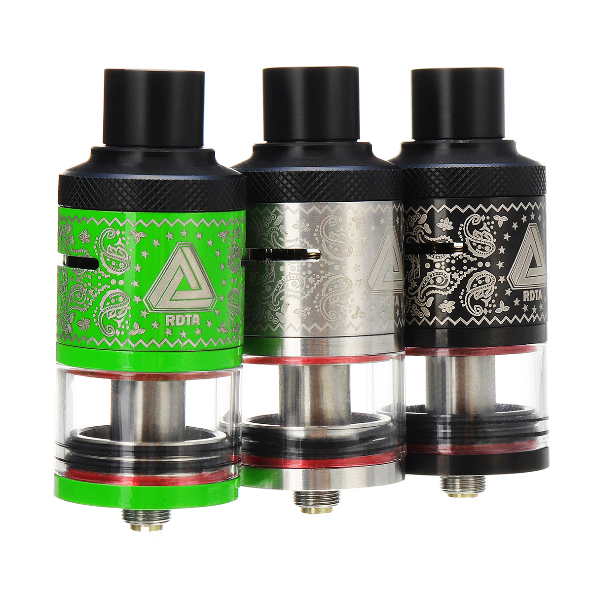 6.3ml RDTA Plus Tank Kit Electronic Cigarette Atomizer 510 Connector for IJoy Limitless