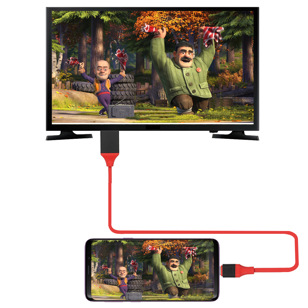 USB 3.1 Type-C to HD 4K/2K@30HZ Display Video Cable