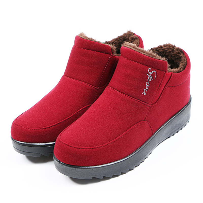 Women Winter Snow Ankle Boots Soft Comfy Shoes