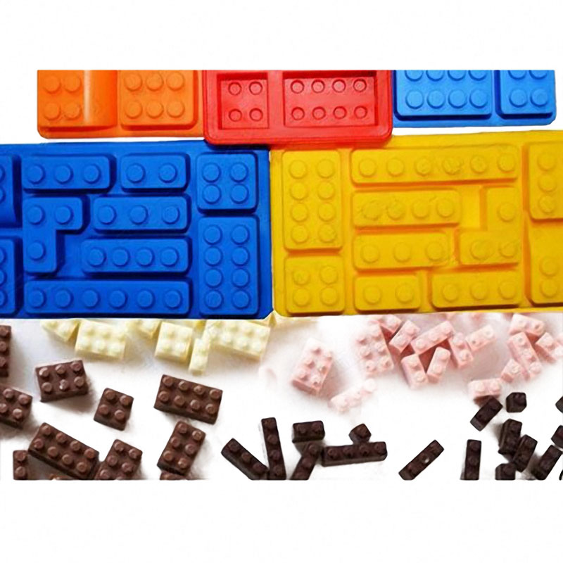 Mini Figure Robot Ice Cube Tray Mold Baking Mold Chocolate Cake Jelly Jello Silicone Mold Fondant Moulds