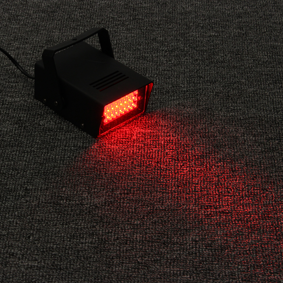 Mini 24LED 3W Red Stage Flashing Light Effect Lamp Strobe DJ Disco Club Party