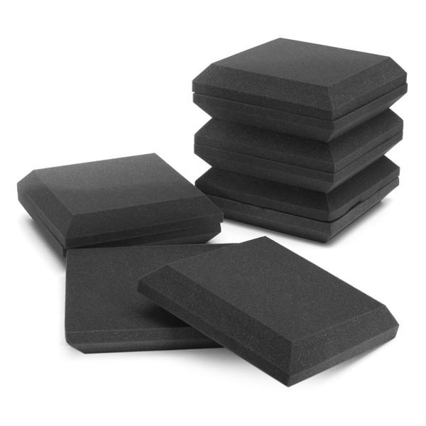 10pcs isolamento acustico cotone 300x300x50mm quadrato assorbimento studio schiuma