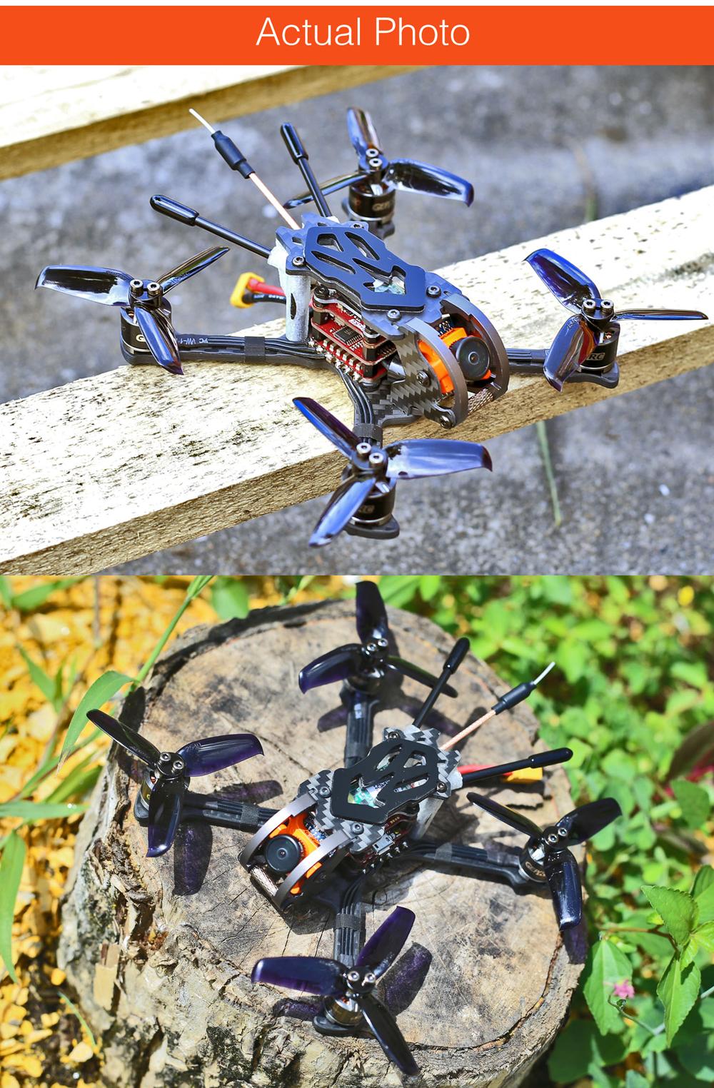 Summer Prime Sale GEPRC GEP-Phoenix 125mm FPV Racing Drone BNF Omnibus F4 RunCam Micro Swift 600TVL Camera - Photo: 9
