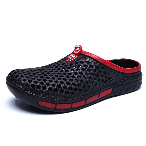 Men Slipper Shoes Beach Outdoor Casual Hollow Out Sandals