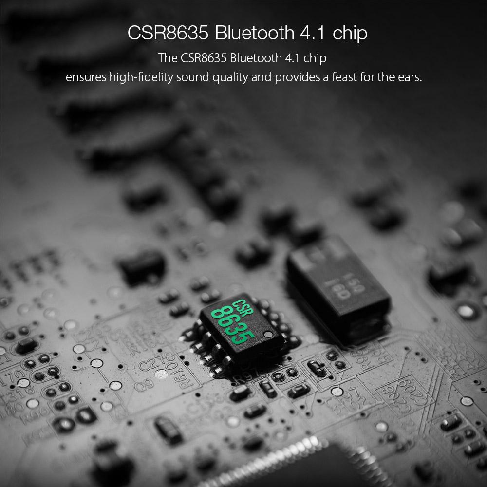 BlitzWolf® BW-BTS3 Sport Adjustable Earhooks bluetooth Earphone IPX5 Waterproof Heavy Bass Headphone