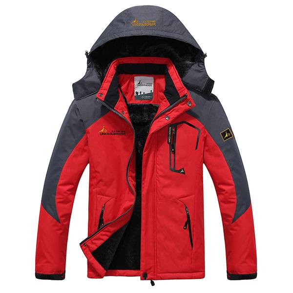Thick Fleece Winter Outdoor Water Repellent Jacket