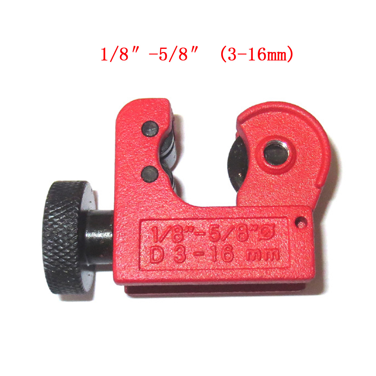 Mini Tube Pipe Cutter Zinc Alloy 1/8inch-5/8inch 3-16mm Cutting Cut Range