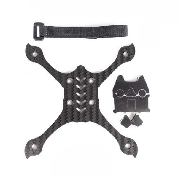 Emax Babyhawk Race Pro 2.5 Spare Parts Bottom Plate Pack & Nonslip Pad & Battery Strap