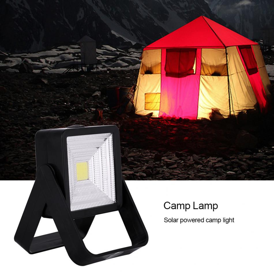 XANES SP3 Solar USB Charging Camping Tent Work Light Outdoor Portable Spotlight High Lumens COB Flashlight Torch