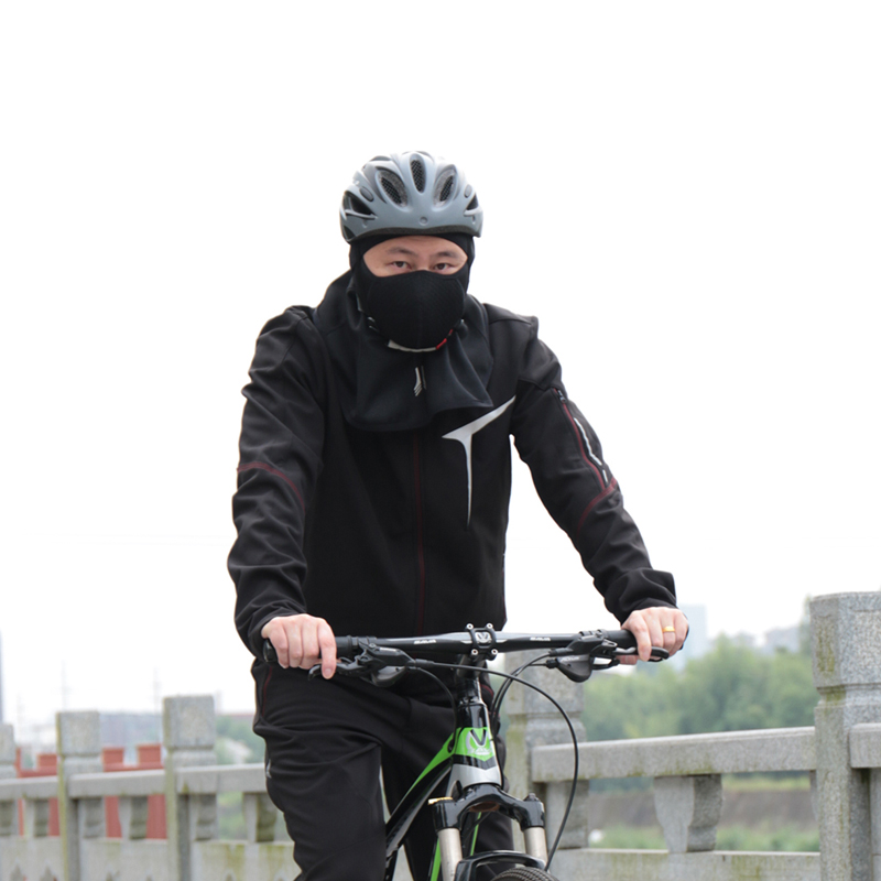 Wheel Up Autumn Winter Hood Riding Mask Windproof Warm Outdoor Sports Cycling Mask Cover Cap