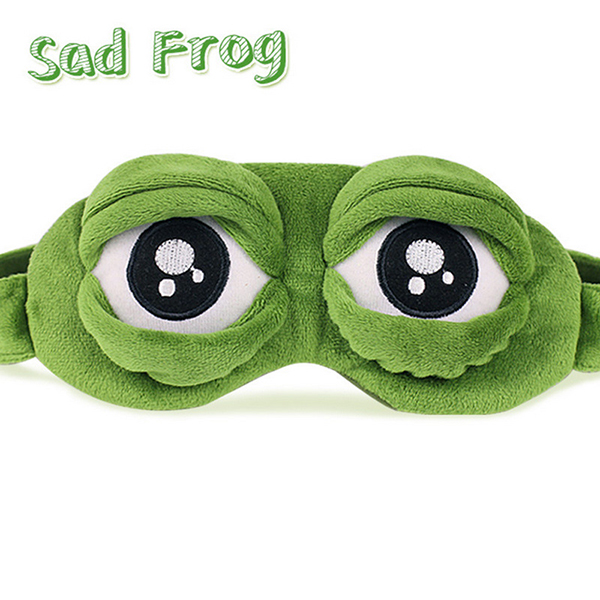 Funny Frog Ice bag 90g Cartoon Spoof Sleeping Eye Mask