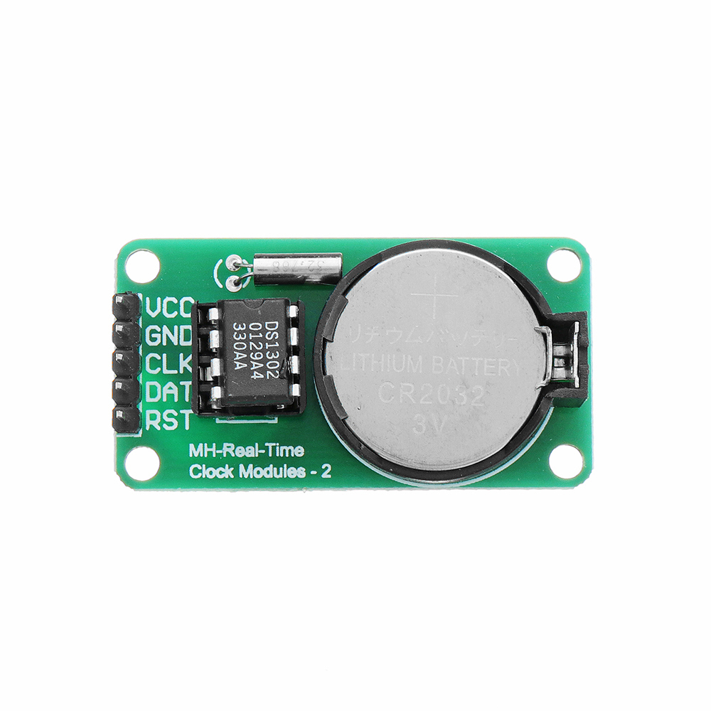 DS1302 Real Time Clock Module With CR2032 Battery Power Down Travel Time DS1302 Module