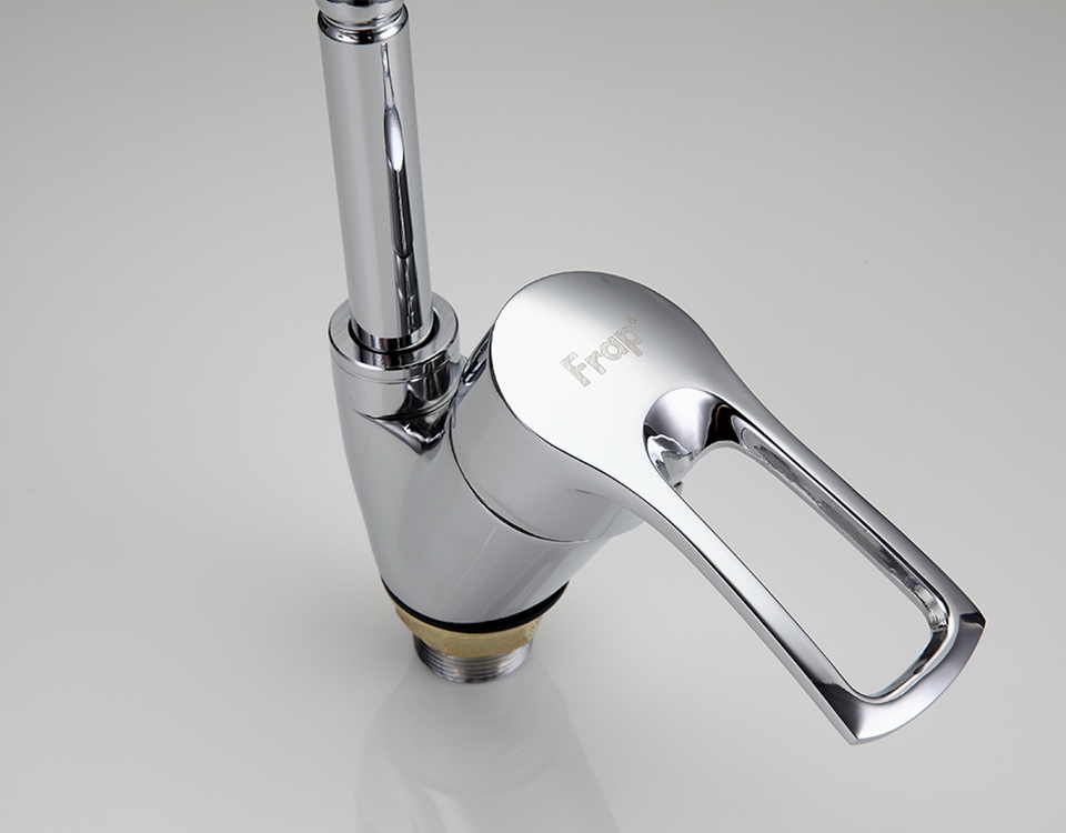 FRAP F43101-B High Quality Kitchen Desk Mounted Dual Modes Hot and Cold Single Handle Basin Faucet