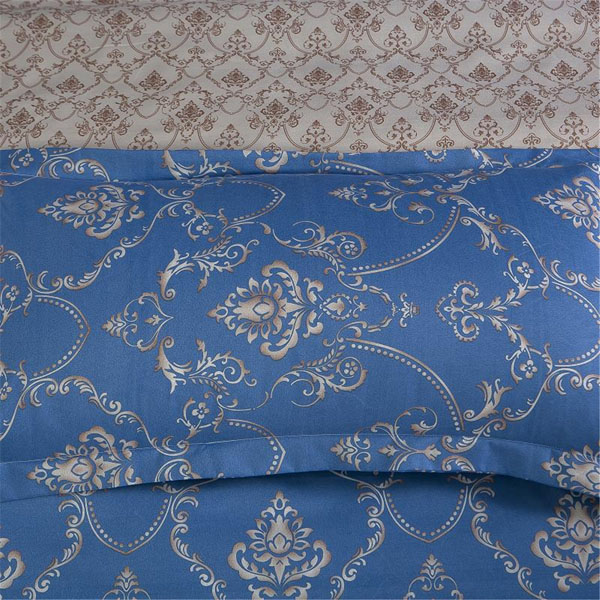 3 Or 4pcs Vintage Europe Polyester Fibre Bedding Suit Retro Pattern Printed Bedding Sets