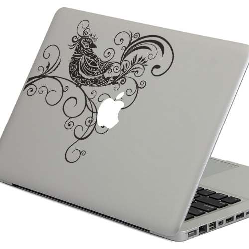 PAG Hummingbird Laptop Sticker Removable Bubble Self-adhesive Skin Decal For 13