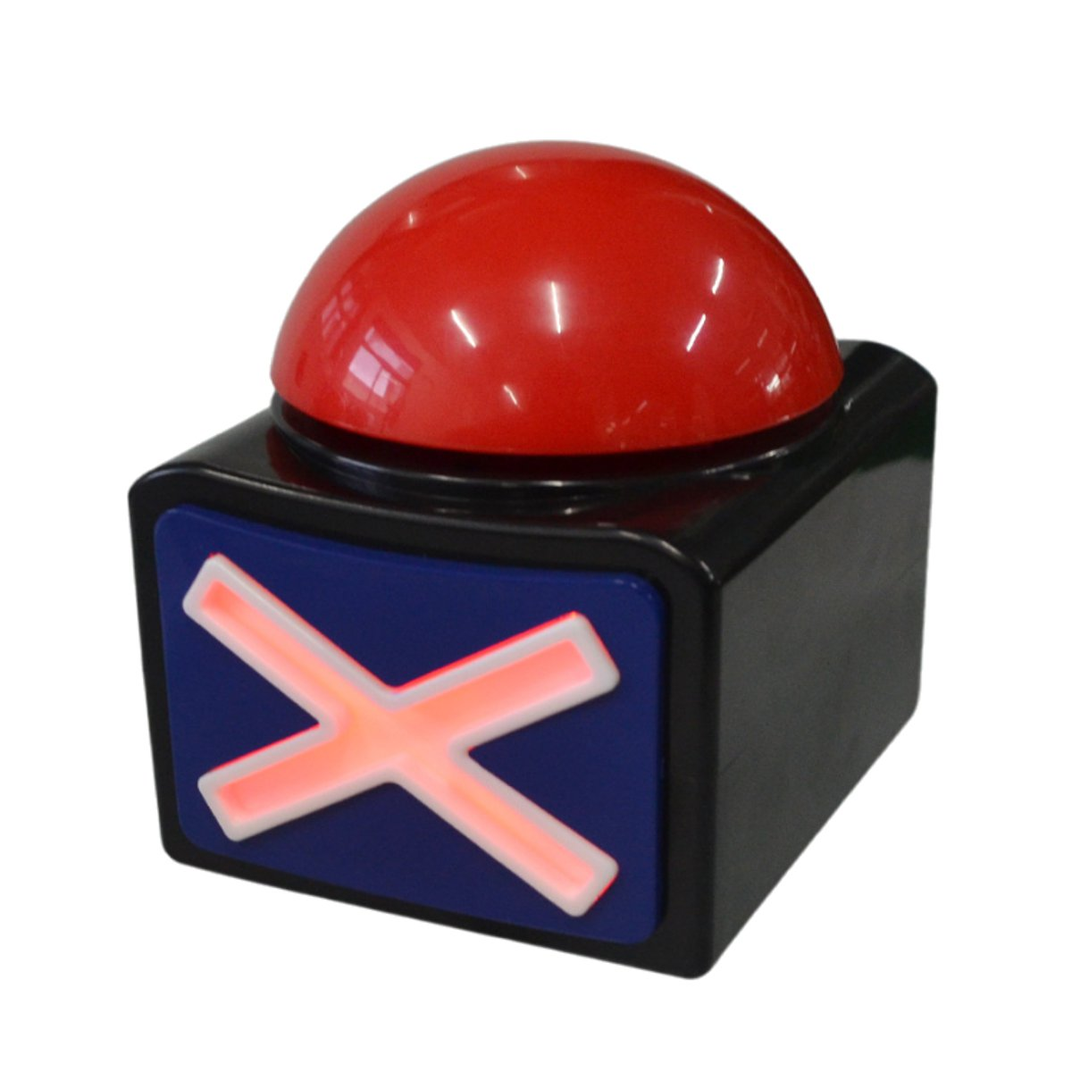 Buzzer Alarm Push Button Lottery Trivia Quiz Game Red Light With Sound And Light