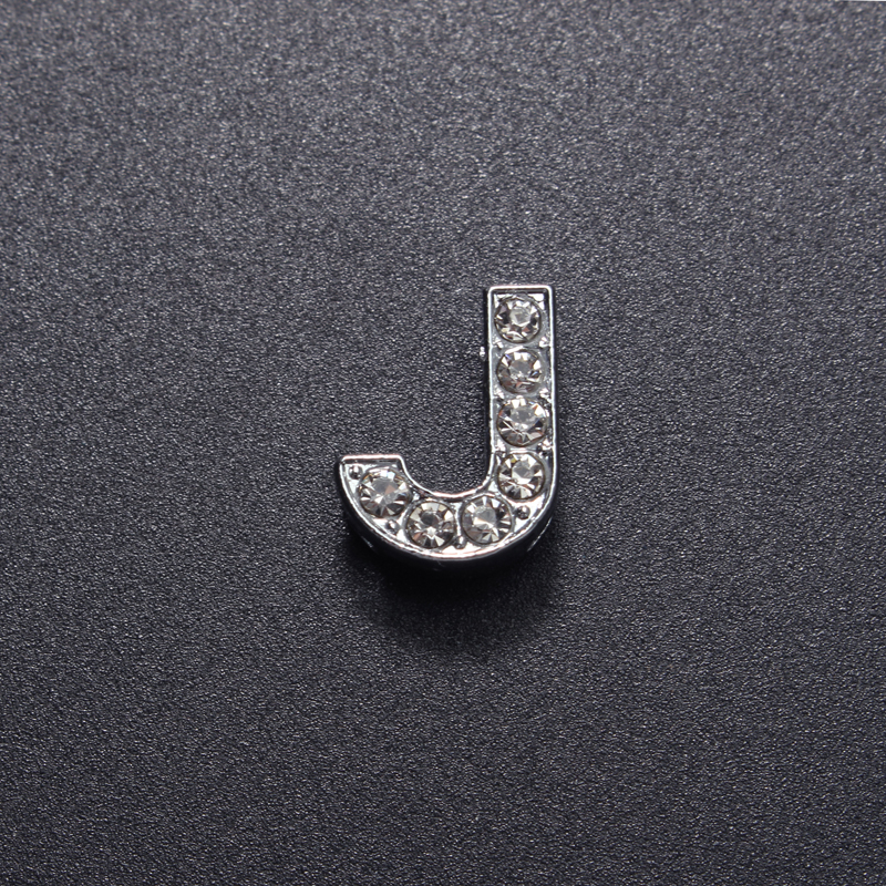 26 Letters Crystal DIY Key Chain Jewelry Accessories