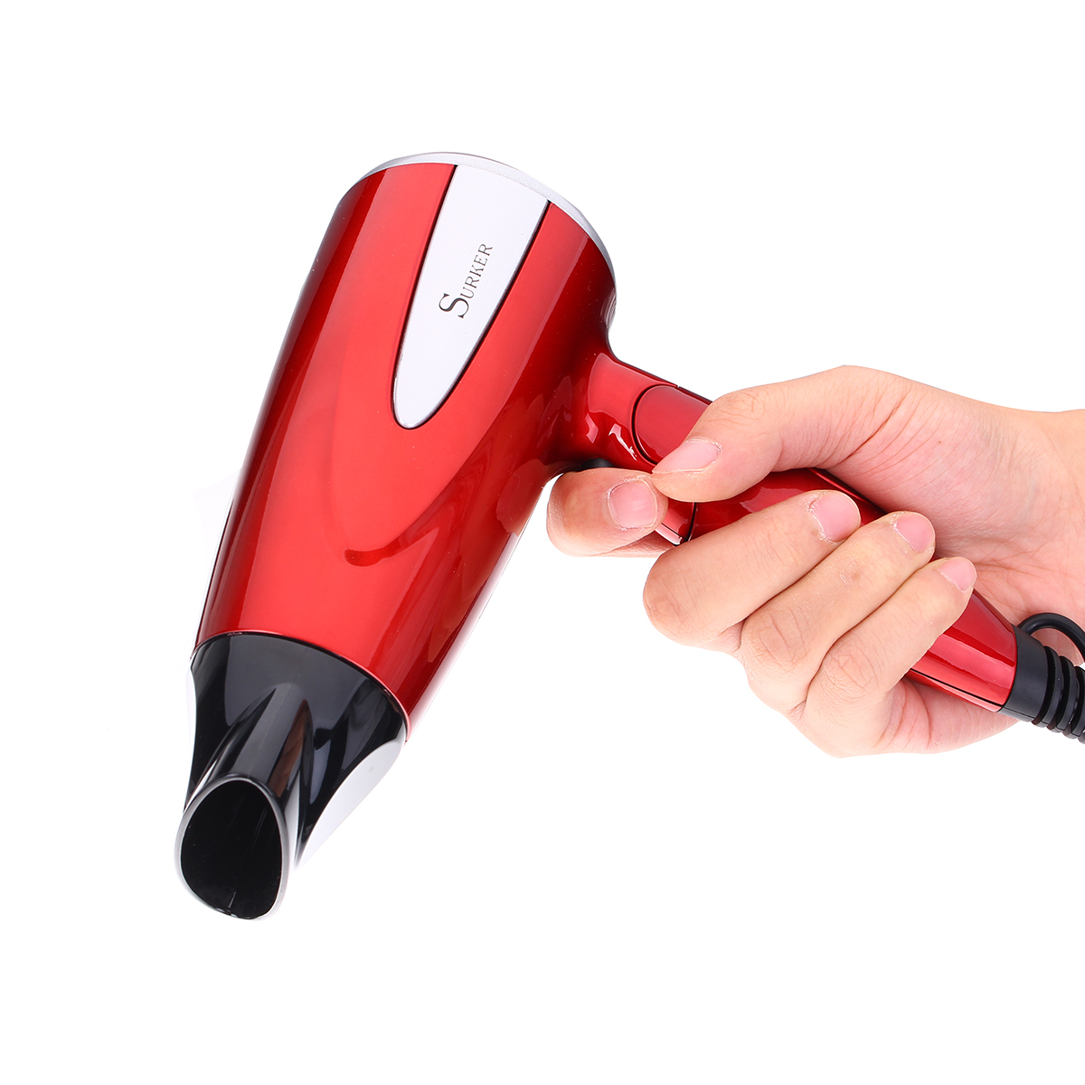 Surker Folding 1800W Hair Dryer Fast Dry Constant Powerful