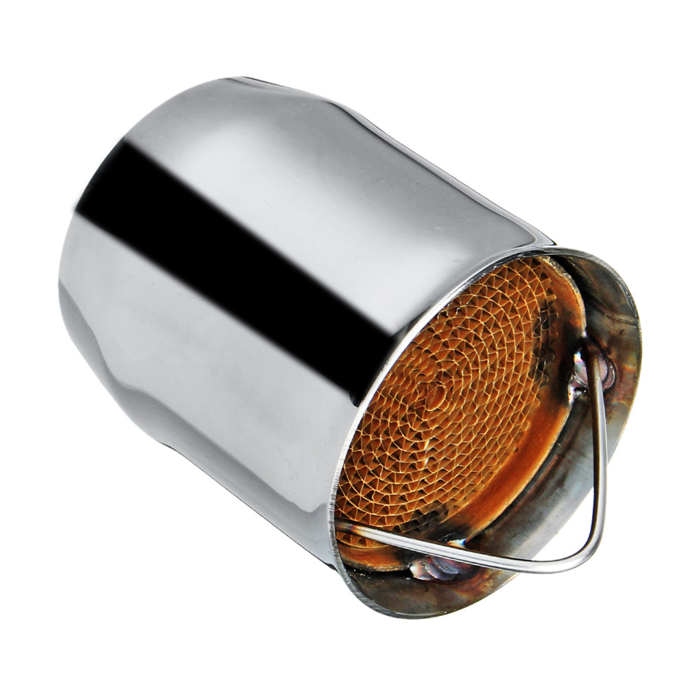 60MM Universal Motorcycle Off-road Racing Exhaust Can Silencer Muffler Baffle Removable