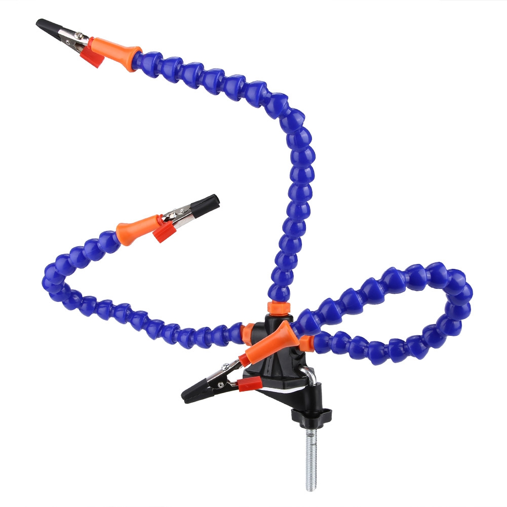 Multi Soldering Station Third Hand Tool With 2/3 Flexible Arms Soldeirng Iron Holder for RC Model