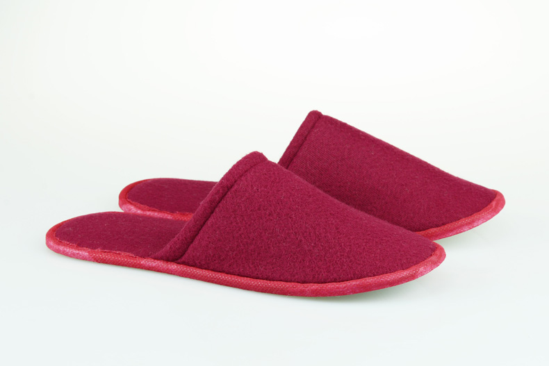 1 Pair Hotel Travel Disposable Slippers Home Guest White Red Blue Slippers