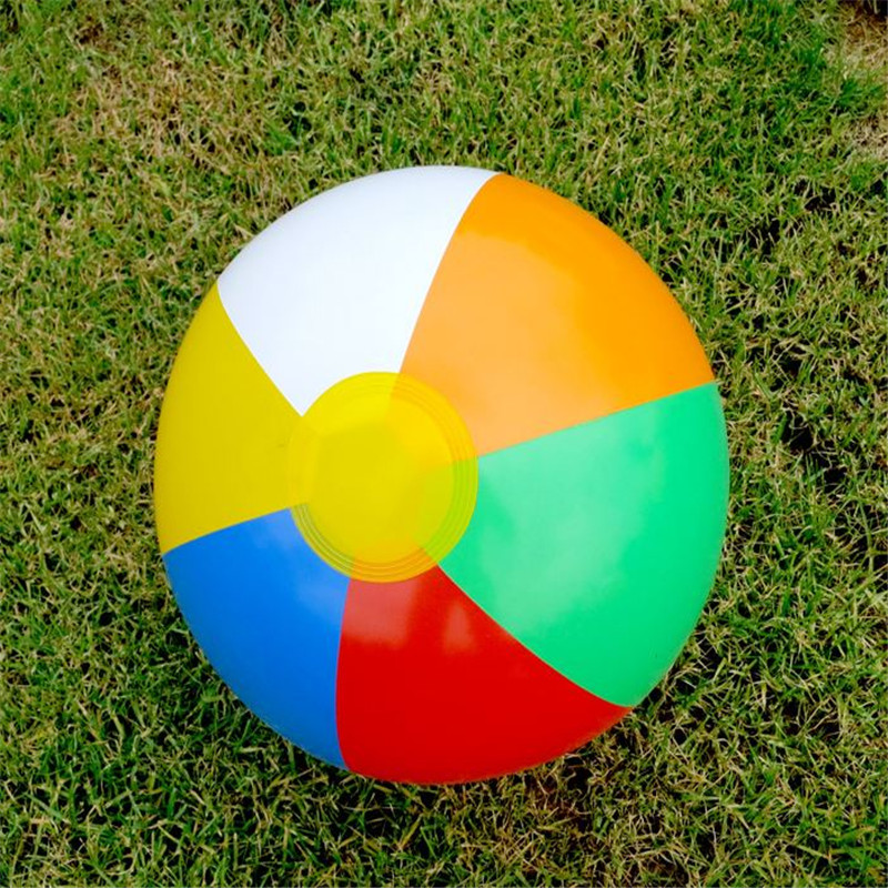 23cm Colorful Inflatable Beach Toy Ball Float Water Swimming Play for Children Toys