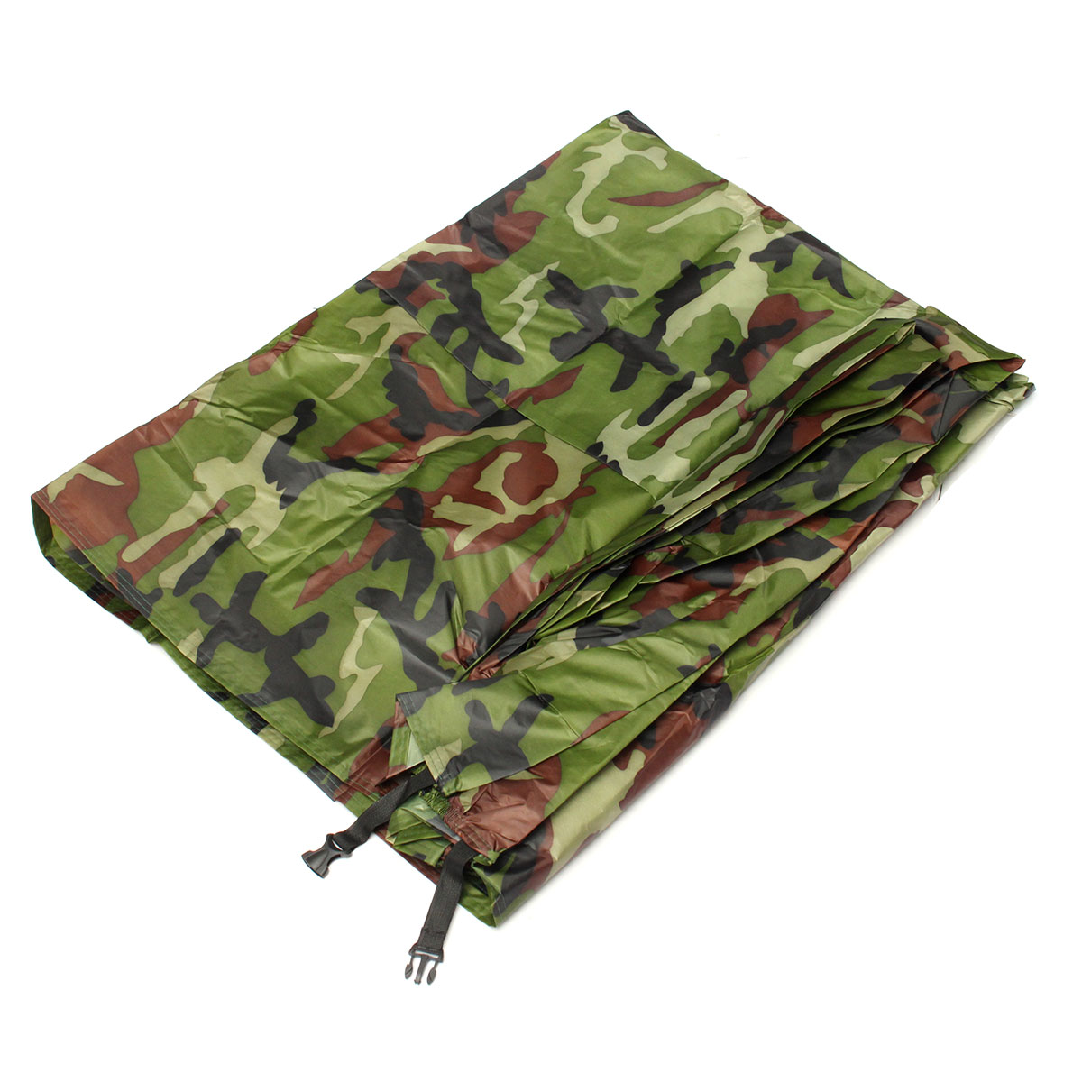 Size L Waterproof Outdoor UV Rain Cover Motorcycle Bike Protector Camouflage