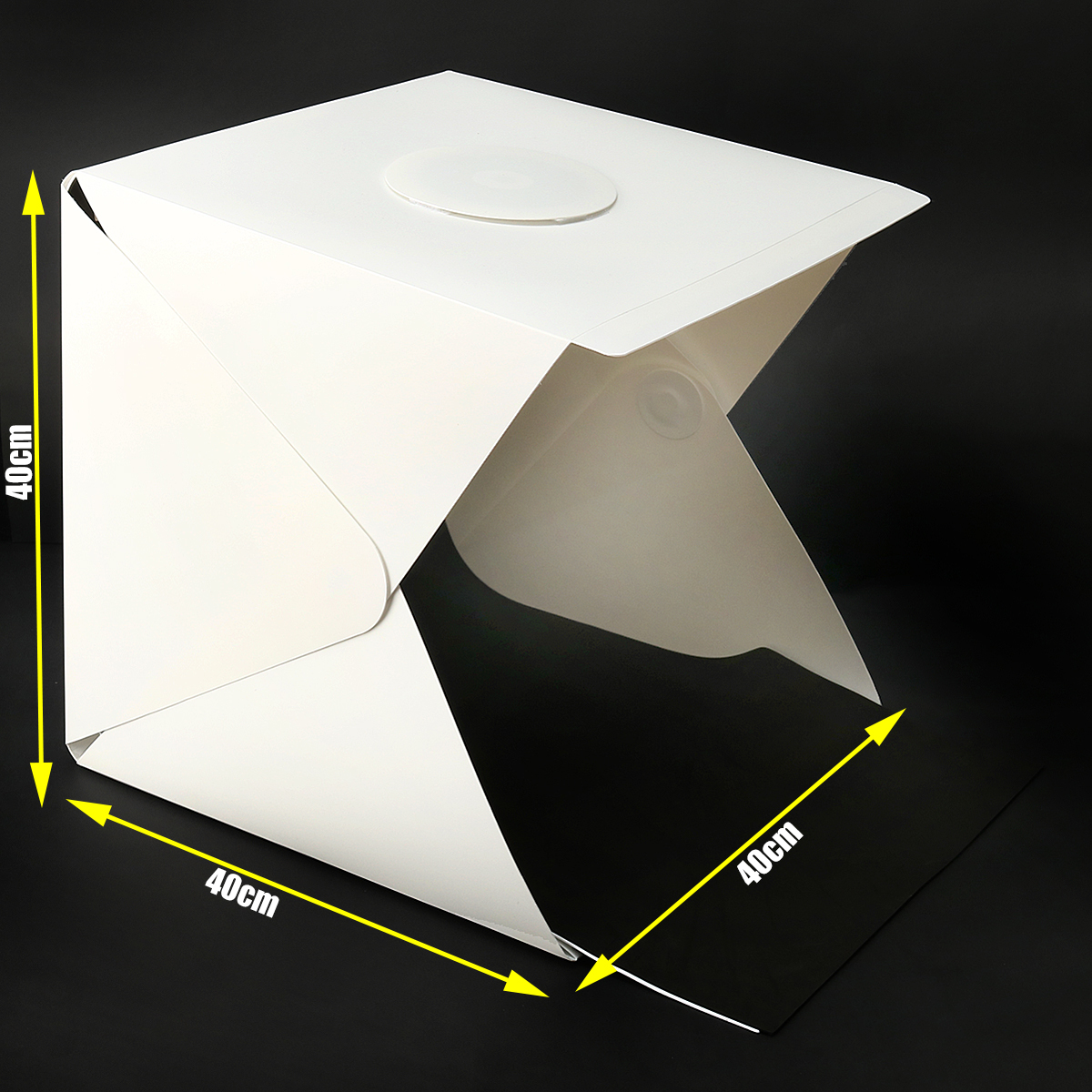 40CM Photo Studio Photography Light Room Tent Kit Backdrop Cube Box