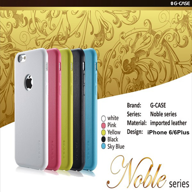 G-Case Noble Series PU Leather Case Protective Shell For iPhone 6 6S 6Plus 6S Plus