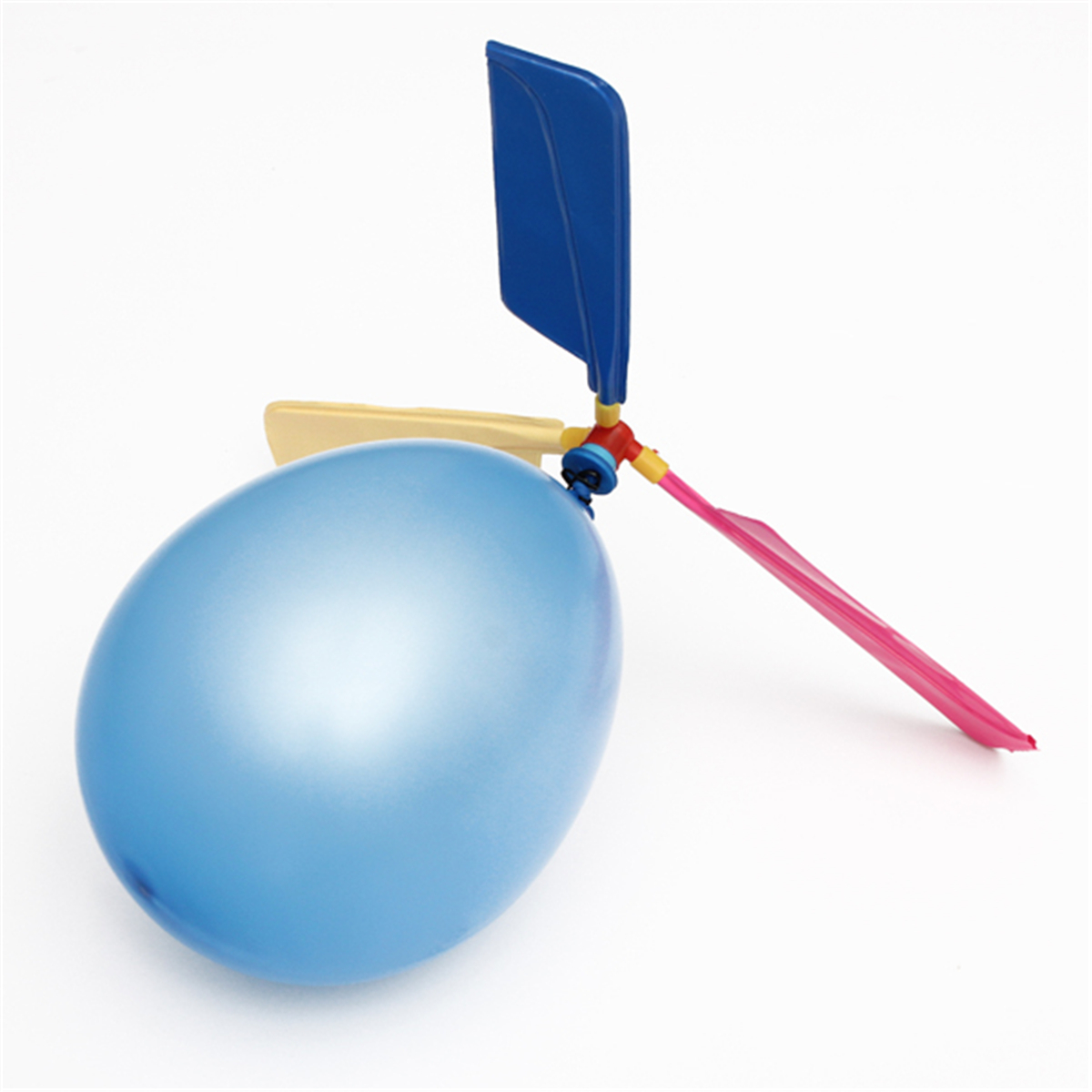 5Pcs Colorful Traditional Classic Balloon Helicopter Portable Flying Toy