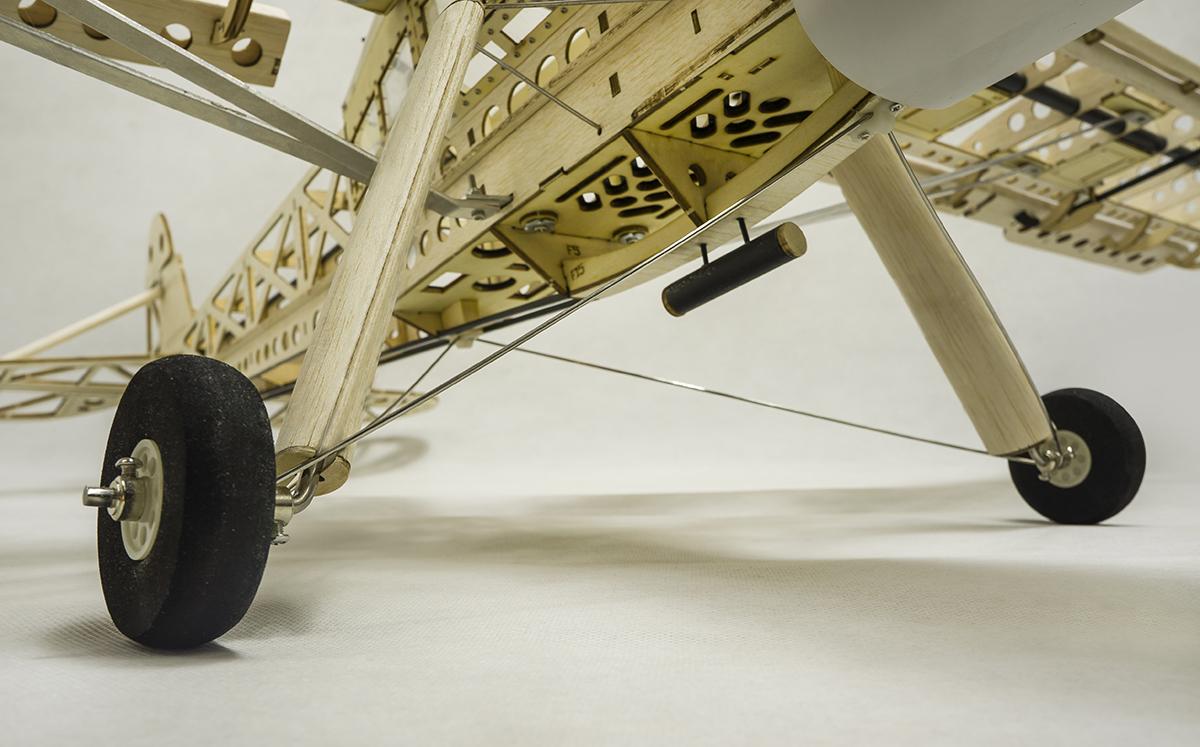 Dancing Wings Hobby Fieseler Fi 156 Storch 1600mm Wingspan Blasa Wood Laser Cut Warbird RC Airplane KIT - Photo: 6