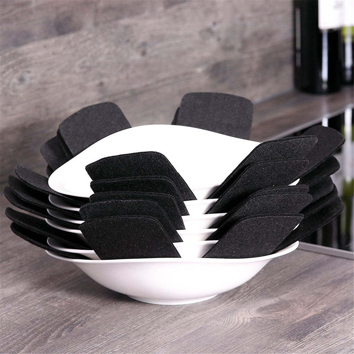 8Pcs Pot Pan Separator Protector Preserves Non Stick Cooking Surface Placemat 32/38/42cm