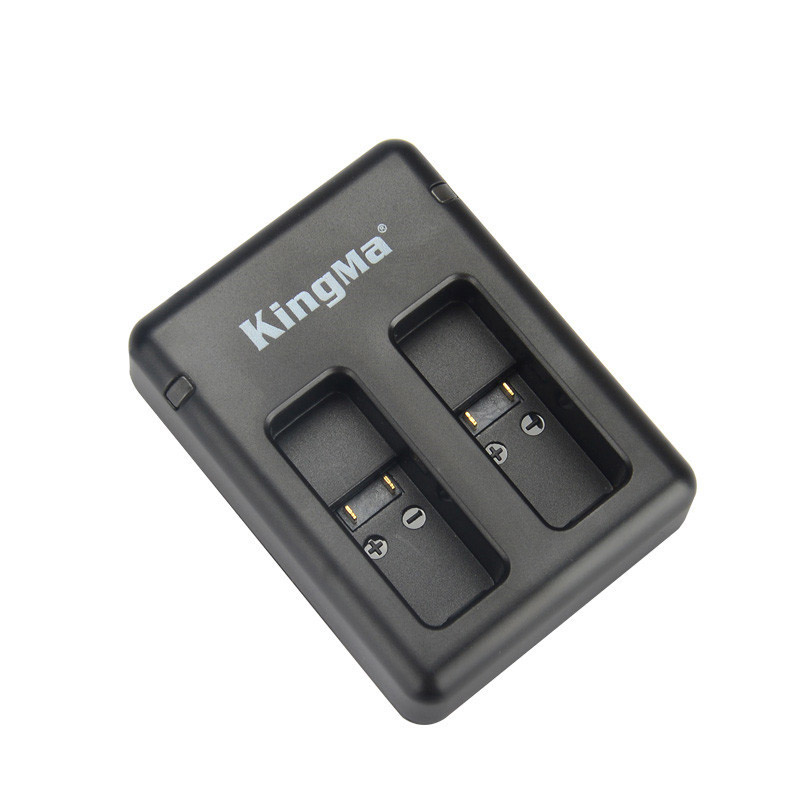 KingMa BM042 Portable Dual USB Camera Battery Charger for GoPro HERO 5 6 Action Camera AHDBT-501 AABAT-001 Battery