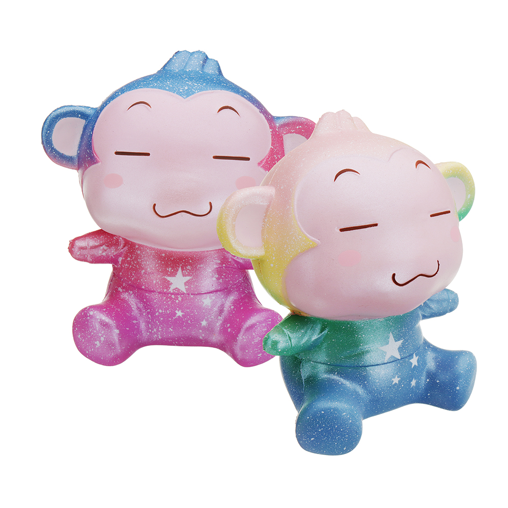 Kiibru Monkey Squishy 13*12*9CM Licensed Slow Rising With Packaging Collection Gift Soft Toy