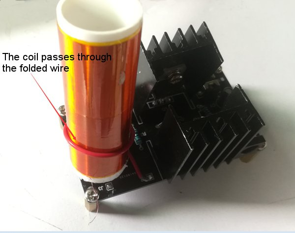 DC 15-24V 2A DIY Electronic Mini Music Tesla Coil Plasma Horn Speaker Kit Produce Arc Music Player Function
