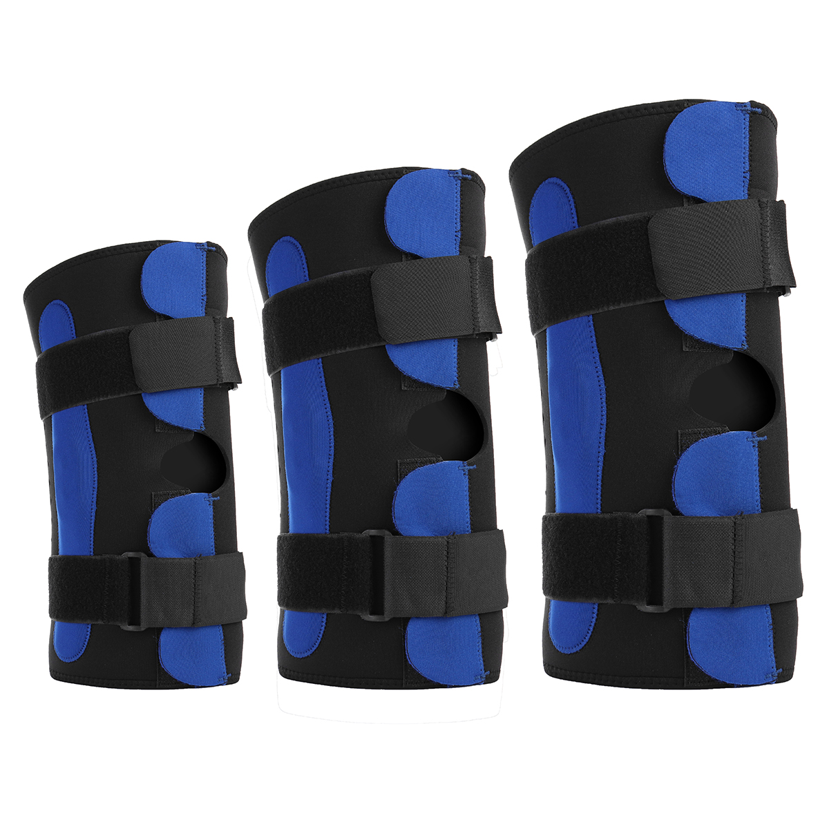 Adjustable Knee Pad Patella Support Brace Sleeve Wrap Cap Stabilizer Portable Sports Knee Protectors