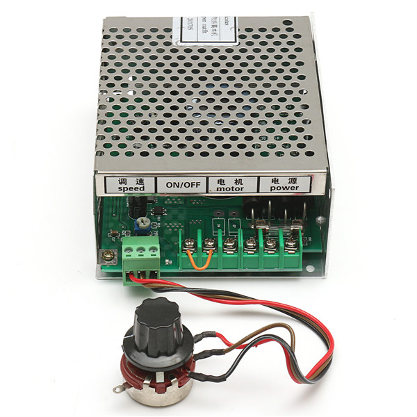 300W Spindle Motor With AC 110-220V Power Supply Speed Governor and 52mm Clamp Set