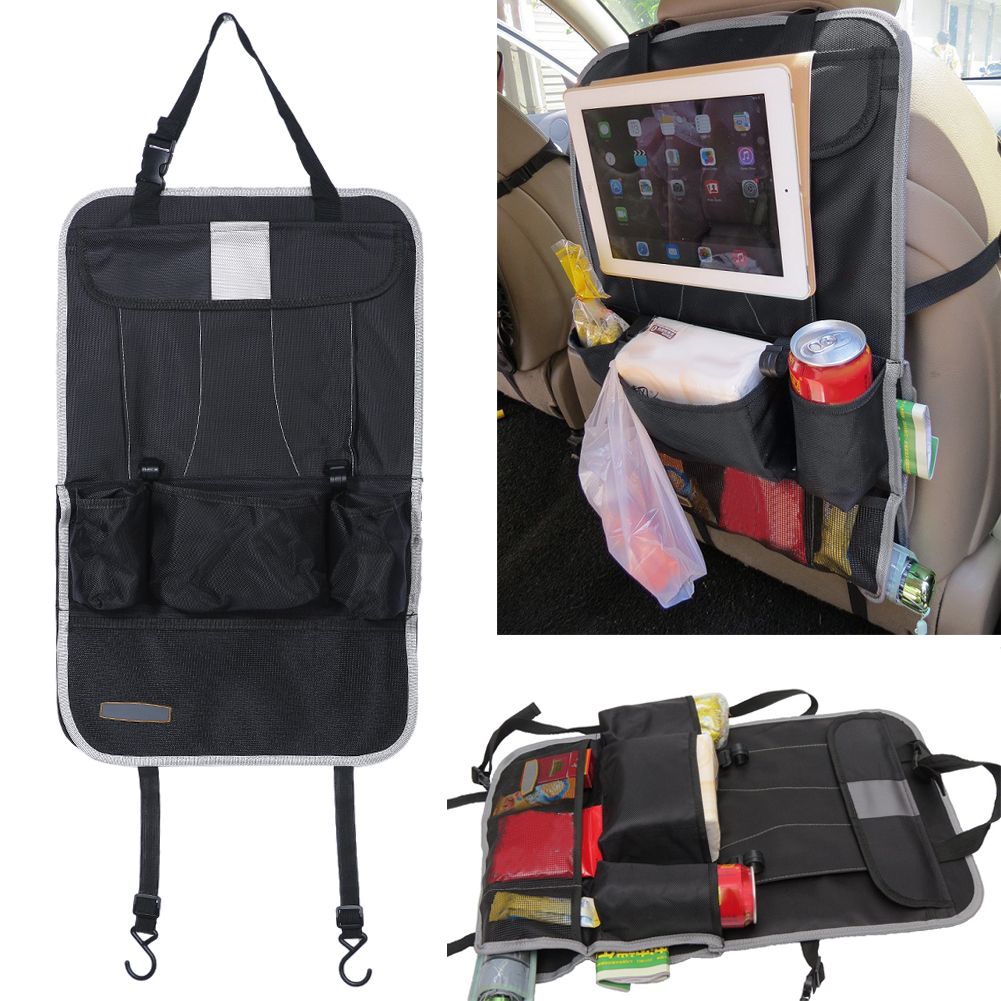 Auto Back Car Seat Bag Organizer Holder Multi Pocket Travel Storage Hanging Bag