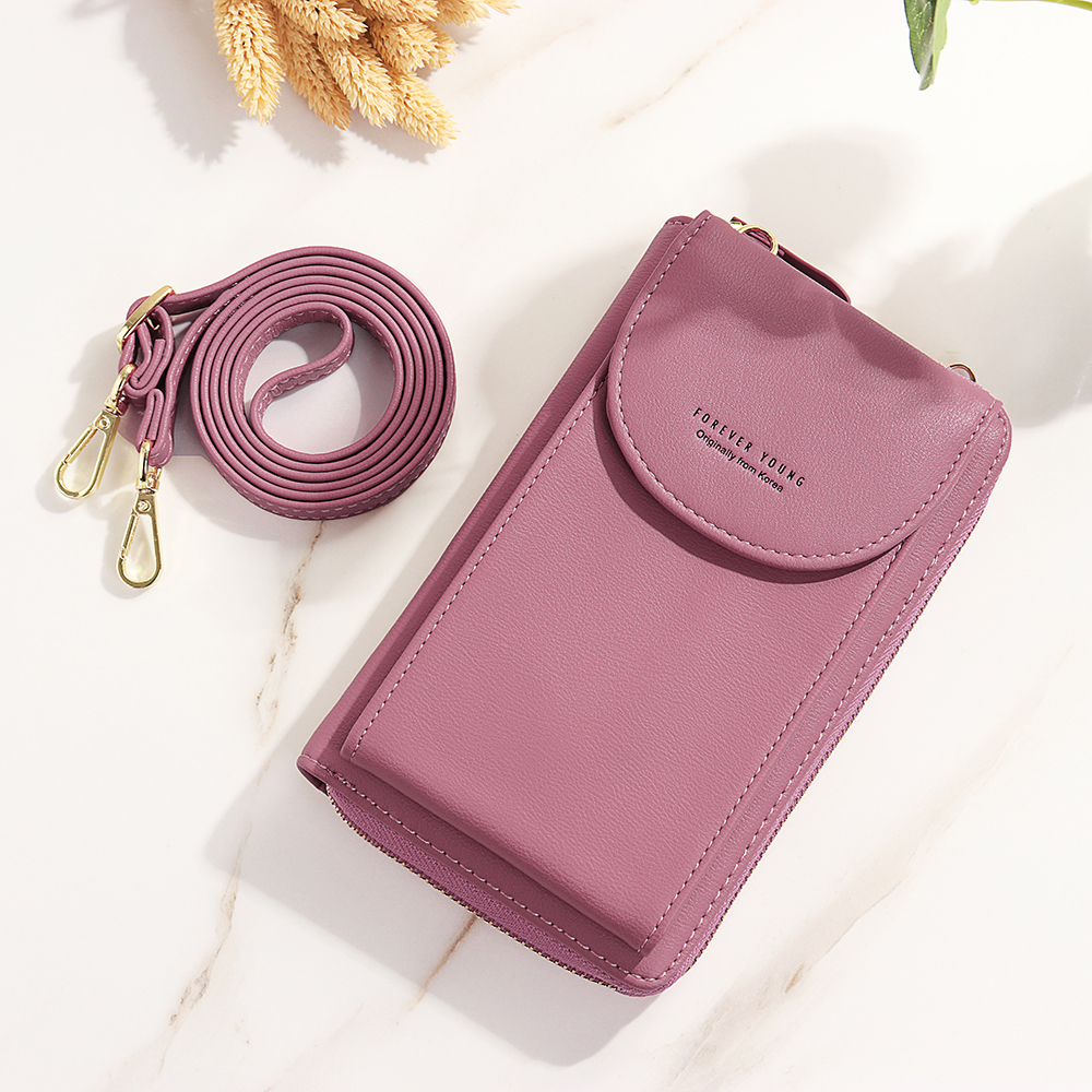 Women Multifunctional Phone Bag Long Wallet