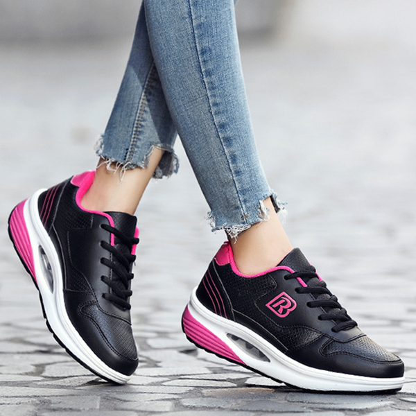 Sport Shoes Casual Light Comfortable Lace Up Outdoor Running Shoes