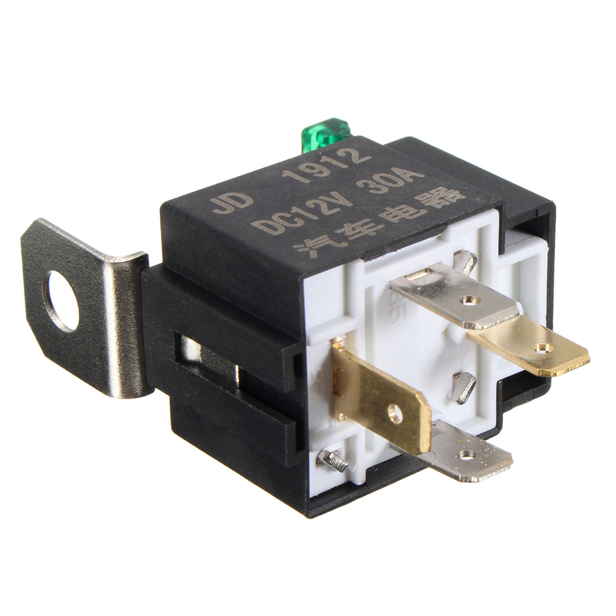 SKU38DC 12V Small And Lightweight Construction Automotive Relay With Fuse Four Legs