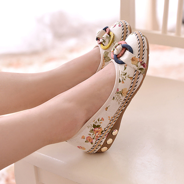 Women Casual Round Toe Flats